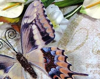 Butterfly Embellishments Golden Breeze