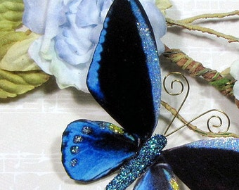 Butterfly Embellishments Indigo Visions