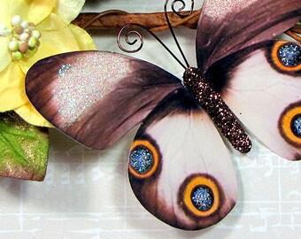 Butterfly Embellishments Cinnamon Owl
