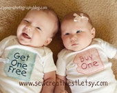 THE ORIGINAL Buy One and Get One Free Twin Onesie Set