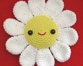 super happy flower crochet pattern - PDF