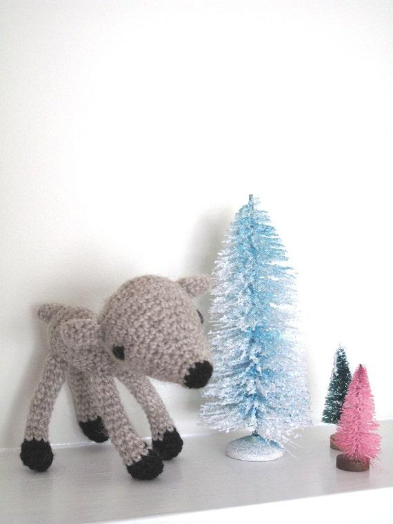 Crochet Baby Deer Pattern : baby deer amigurumi crochet pattern PDF