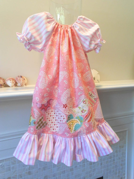 """NIghtgown or Dress 2T """"Get Up Here In My Arms Cute"""" Designer Cotton betrueoriginals"""