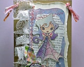 Lilac Paper and Lace Fairy Hanger