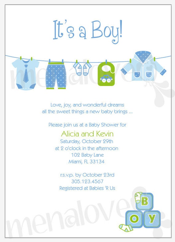 Baby Boy Shower Invitations Wording is good invitations sample
