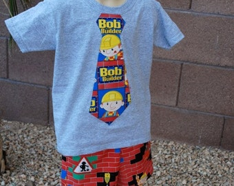 Bob the Builder Tie t shirt