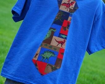 Dinosaur Tie Shirt