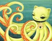 In the Octopuses Garden - PRINT