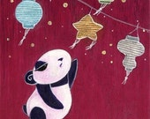 Panda Star - PRINT
