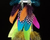 Trendy Fashion Statement feather earrings ...HOT...