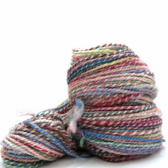 Tramp Stamp  HandSpun BFL wool Yarn (118 yds) FREE SHIPPING