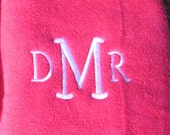 PERSONALIZED BathTowel  with Monogram or Name - Color Options - Great Graduation Gift - New Baby Gift - Bath Towel