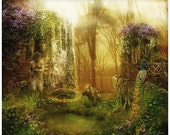 Untamed, Enchanted Garden Art Print 11 x 14 inch