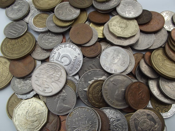 Real Coins For Your Jewelry and Crafting Projects - 14 Pieces