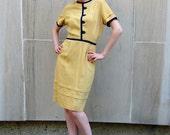 1960s Charade Sheath Dress.  M.