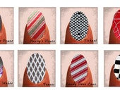 Manicure Stickers, Shields, Patch, pedicure 8 Designs to choose from
