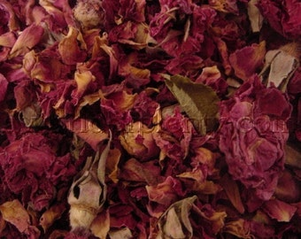 Roses, Petals, and Buds Dried Rosebuds - Potpourri and Sachets