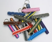 Paracord Key Fob Keychain - You Choose The Colors