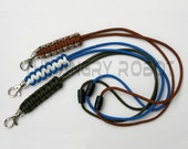 Paracord Neck Lanyard with Breakaway - over 100 colors to choose from - for ID Keys and more