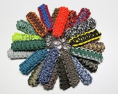 King Cobra Paracord Key Fob Keychain - You Choose The Colors