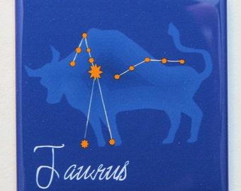 Taurus Zodiac Sign - Magnet 2 inch Square