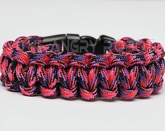 SLIM Paracord Survival Bracelet Cobra - Candy Snake