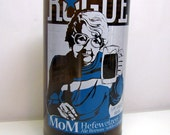 Cheers to Mom - ***RESERVED LISTING**Muti-Purpose Upcycled Rogue Hefewiezen Beer Bottle, Flower Vase, Votive Holder, Mother's Day