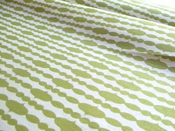 Raindrops - Split Pea - Organic Cotton