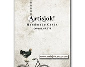 Chick - Set of 48 calling cards