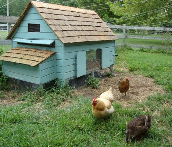 Easy Diy 4 X6 Chicken Coop Hen House Plans Pdf