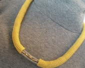 Mustard necklace