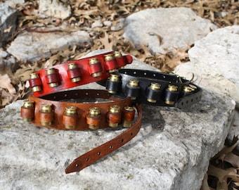 Steampunk Red Bandoleer, Bullet holder, Gun Slinger, Western, Wild West, West World, Victorian, 18th Century, Historical, Gun Nut
