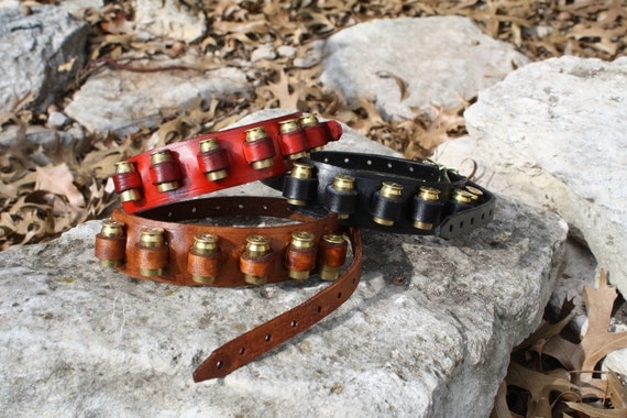 Steampunk Red Bandolier