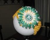 oakland athletics flower or  headband