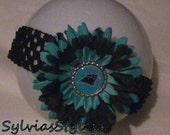 PANTHERS FLOWER Headband ...