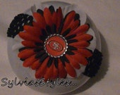 SF 49ers football flower headband .. see shop for more teams