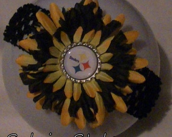 Steeler Flower or Headband