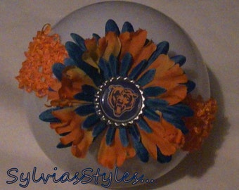 Bears Flower  Headaband ...See shop for other teams