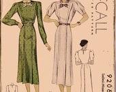 1930'S  McCall Dress Pattern size 14