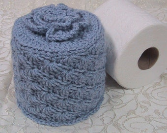 Knitting Pattern For Toilet Paper Holder : Popular items for toilet paper on Etsy