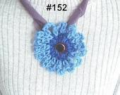 INSTANT DOWNLOAD Crochet Pattern PDF 152- Flower Crochet- Loopy Edge Flower