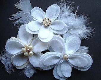 INSTANT DOWNLOAD PDF tutorial127 Layered Petal Flower  - Very easy to make.  No sewing machine needed