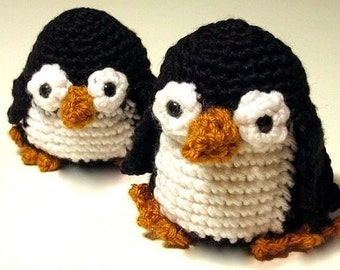 INSTANT DOWNLOAD Crochet Pattern PDF-Paco Penguin-Ease with many photo illustrations
