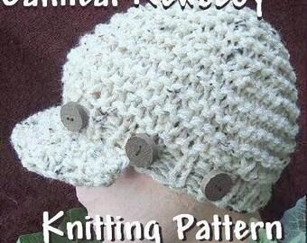 Instant Download - KNITTING  PATTERN PDF 82 Flat Knit, Adult size Newsboy Cap by www.Ashton11.etsy.com