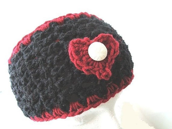 CROCHET PATTERN number 117 RED HEART HEADBAND....... OR