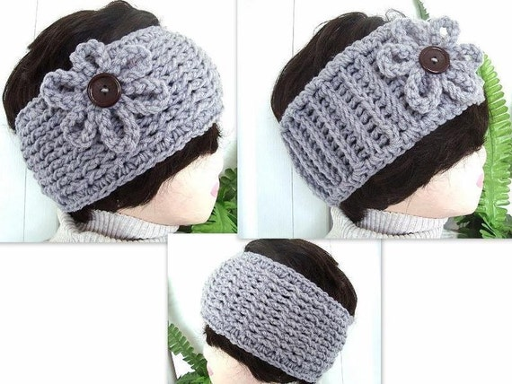 Reversible Headband Knitting Pattern : INSTANT DOWNLOAD Crochet Pattern PDF 181- Reversible Knit ...