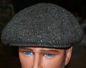 Vintage Pendleton Wool Cabbie Cap, Newsboy Hat, A Classic Over 25 Years Old