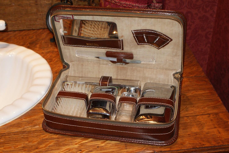 Vintage Men S 1960 Sovereign Travel Kit Oh So Mad Men