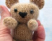 Little Bear Amigurumi Mohair Blend Teddy Cuddly