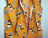1970's Trippy Panda Smock